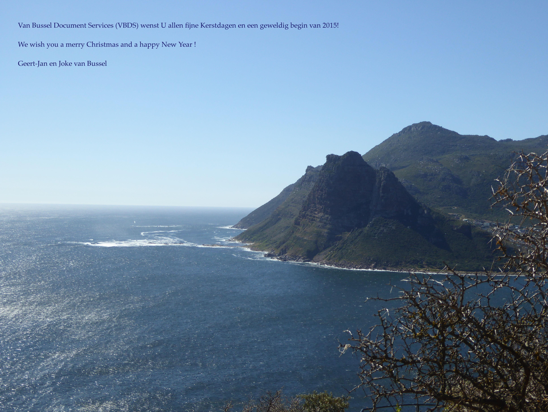 Zicht op Kaap de Goede Hoop